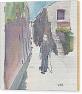 No.8 Sur La Route De Venasque Wood Print