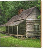 Noah Ogle Cabin Wood Print