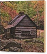 Noah Ogle Place In The Smoky Mountains Wood Print