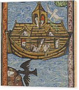 Noahs Ark, 1190 Wood Print by Getty Research Institute