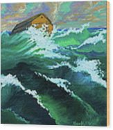 Noah's Ark Wood Print