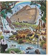 Noahs Ark - The Homecoming Wood Print