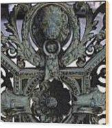 Nob Hill Gate Wood Print