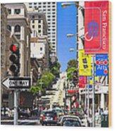 Nob Hill - San Francisco Wood Print