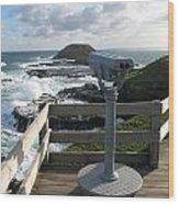 The Nobbies Outlook - Great Ocean Road, Australia Wood Print