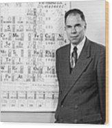 Nobel Winner Glenn Seaborg Wood Print