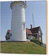 Nobska Light Station Wood Print