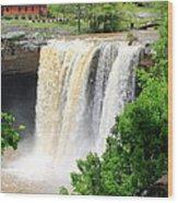 Noccalola Falls Wood Print