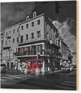 Nola - French Quarter 003 Ck Wood Print