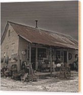 Noland Country Store Wood Print