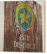 Nola's 8th District Wood Print