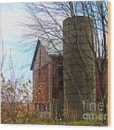 Non Working Barn Property Wood Print
