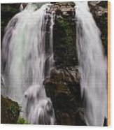 Nooksack Falls Wood Print