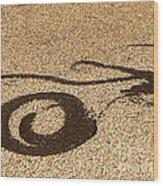 Noonday Dance No.6 Wood Print