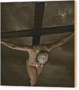 Nordic Crucifix Wood Print