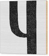 Nordic Rune Kinda Wood Print