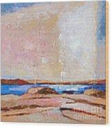 Nordic Seascape Wood Print
