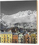 Nordkette Wood Print