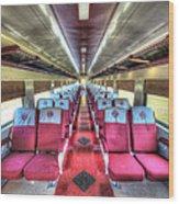 Norfolk And Western Passenger Coach Wood Print