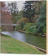 Norfolk Botanical Gardens Canal 3 Wood Print