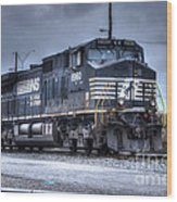 Norfolk Southern #8960 Engine II Wood Print