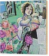 Norma Shearer Wood Print