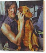 Norman And Charlie  Wood Print