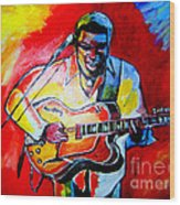 Norman Brown  Wood Print