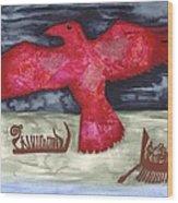 Norse Fairytale Wood Print