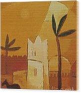 North Africa Wood Print