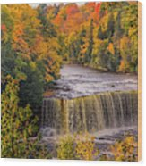 North America, Usa, Upper Peninsula Wood Print