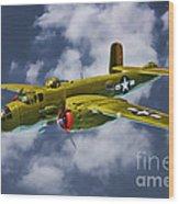 North American B-25j Wood Print