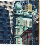 North Beach Victorian - San Francisco Wood Print