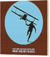 North By Northwest Poster 2 Wood Print