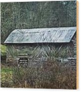 North Carolina Country Barn Wood Print