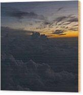 North Carolina Dawn Wood Print