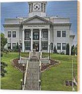 North Carolina Jackson County Courthouse Wood Print