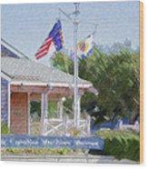 North Carolina Maritime Museums Wood Print