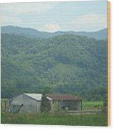 North Carolina Scenery 1 Wood Print