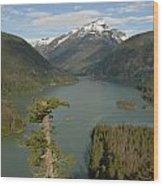 North Cascades Wood Print
