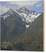 North Cascades Landscape Wood Print