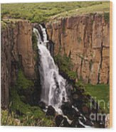 North Clear Creek Falls Wood Print