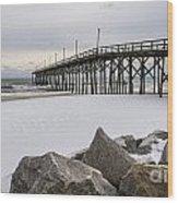 North End Pier Wood Print