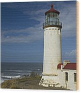 North Head Lighthouse 1 D Wood Print