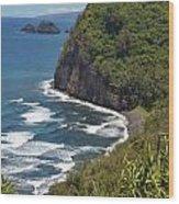 North Kona Coast 1 Wood Print