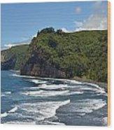 North Kona Coast 2 Wood Print