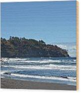 North Kona Coastline 1 Wood Print
