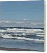 North Kona Coastline 3 Wood Print