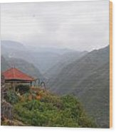 North Maui Scenery Wood Print