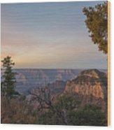 North Rim Sunrise 1 - Grand Canyon National Park - Arizona Wood Print